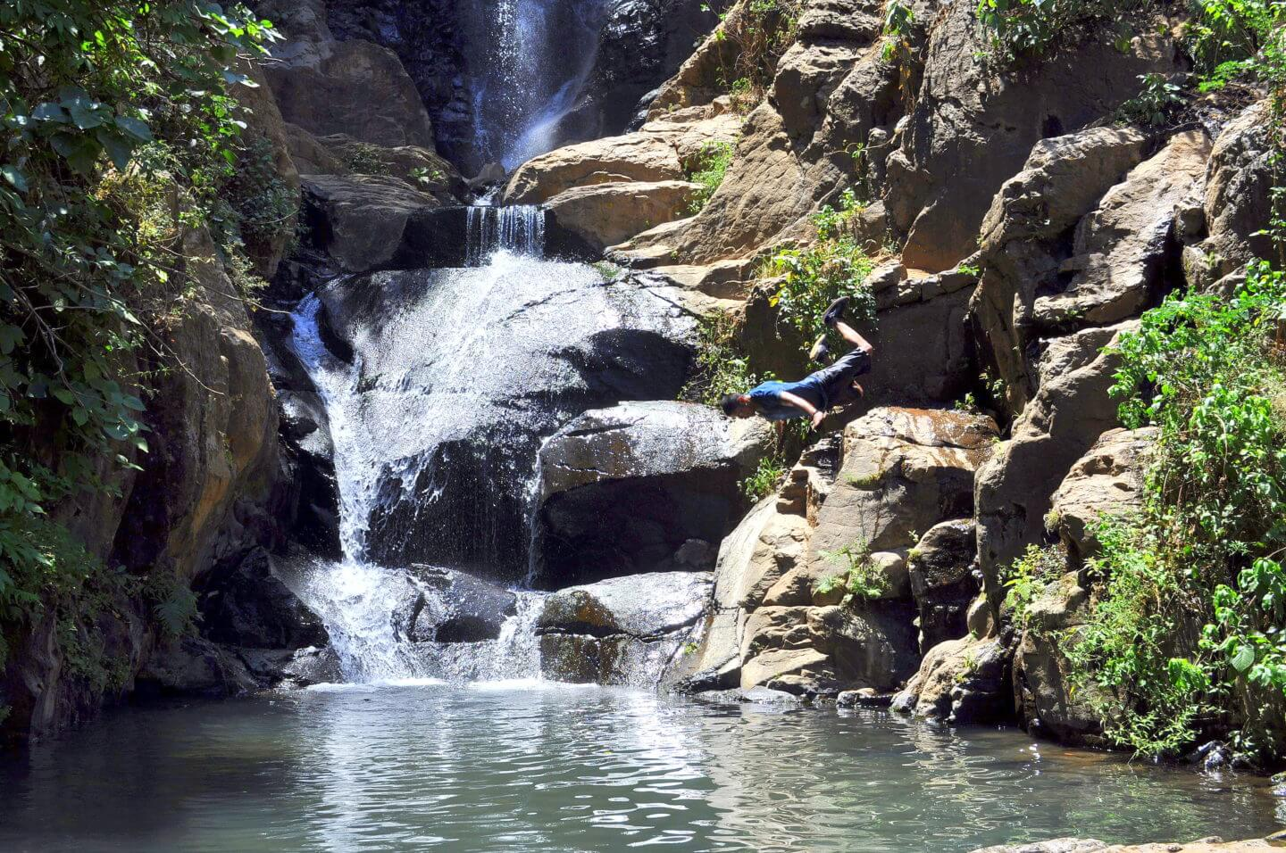 Los Azules Waterfalls in Tequila, Jalisco