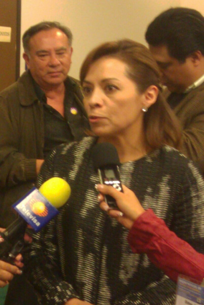 Josefina Vázquez Mota at the Institute of the Americas